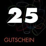 25 EUR Gutschein