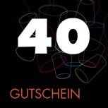 40 EUR Gutschein