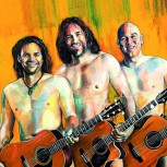 Stockwerk Sommer: 3 Männer nur mit Gitarre